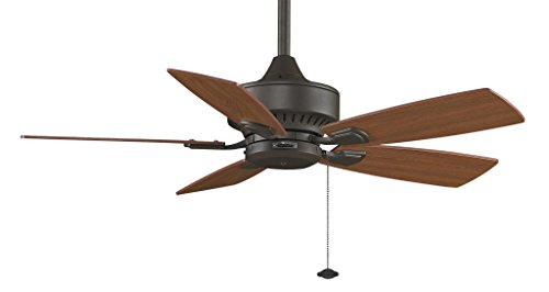 (Fanimation Cancun - 42 inch - Oil-Rubbed Bronze with Pull-Chain - FP8042OB)