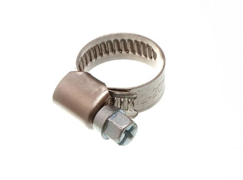 200 X Hose Clamp Jubilee Clip 12Mm - 20Mm Ss Stainless Steel