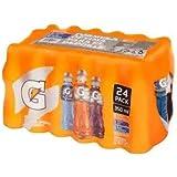 Gatored. 24 botellas de 350ml cada una. 8 sabor naranja, 8 sabor moras, 8 sabor uva