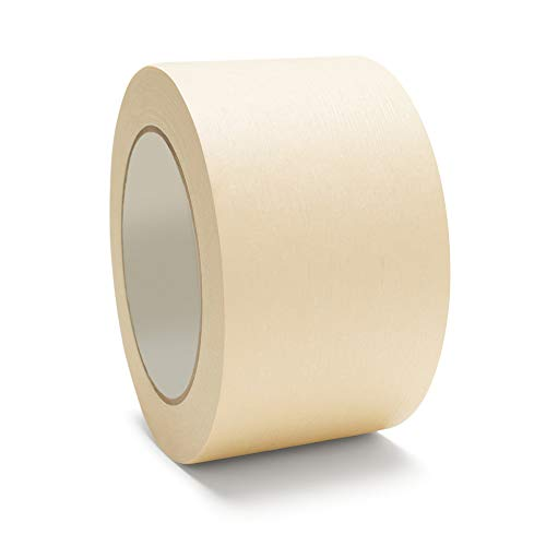 (Masking Tape General Purpose 3'' x 60 yds 72MM 16 Rolls Per Case by The Boxery)