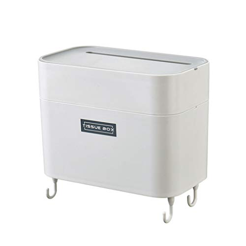 Sunnyys Waterproof Storage Box Bathroom Punch-Free Toilet Tissue Tray Paper Rack (Best Lawn Blower 2019)
