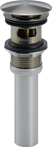 Delta Faucet 72173-SS Push Pop-Up with Overflow, Stainless ()