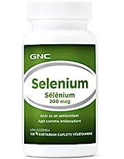 GNC Selenium 200mcg, 100 Capsules, Great Antioxidant Source