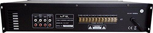 LTC PAA150BT - Amplificador de megafonía (de 4 zonas, 90 W): Amazon.es: Instrumentos musicales