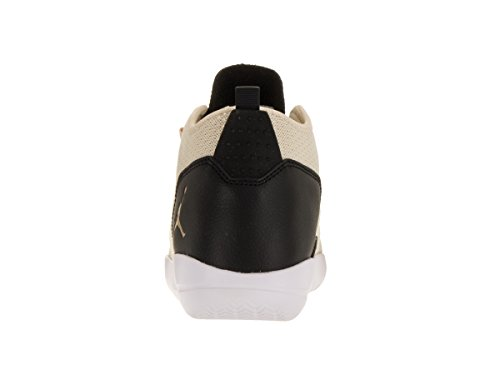 Nike Air Jordan Svelare Prem Hc Gg Hi Top Scarpe Da Ginnastica 834232 Scarpe Da Ginnastica (4 Us Big Kid, Pearl White Metallic Gold Black 220)