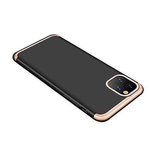 Case Compatible with iPhone 11Pro Phone Cover Providing Protection Apple Phone 3 in 1 Shel (iPhone 11Pro, Golden 2)