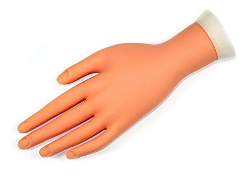 Übungshand für Naildesign Modelage Practice Hand 2061 Melano Nails