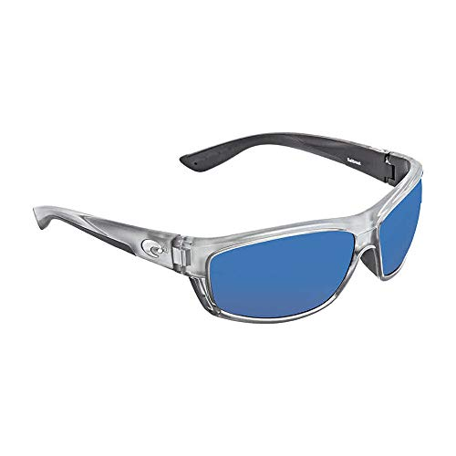 - Costa Del Mar Saltbreak Sunglasses Silver/Blue Mirror 580Plastic