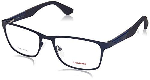 Carrera 5522 Eyeglass Frames CA5522-0L2X-5518 - Matte Blue Frame Lens Diameter 55mm Distance