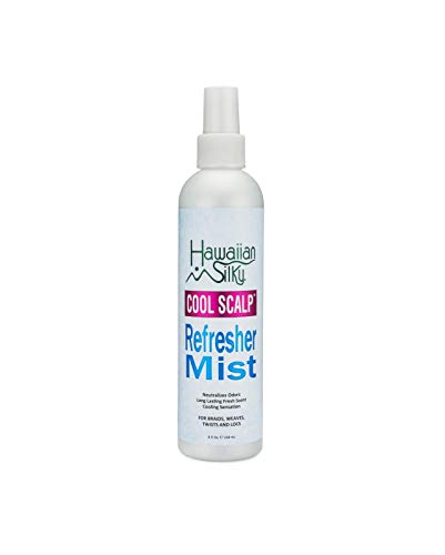 Cool Scalp Refresher Mist, 8 fl oz - Refreshing Hair Style Mist - Long Lasting Fresh Smell & Cooling Sensation by Hawaiian Silky ()