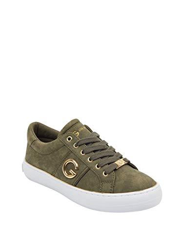 (G by GUESS Women's Grandyy Logo Low-Top Sneakers)