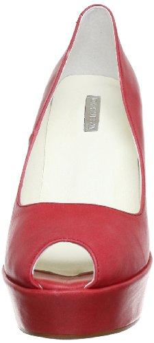 togo Rojo A Siska Cuero rot rot Para De W 9284 Zapatos Johannes Mujer Cqpw6PW