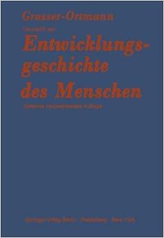 Book Grundriß der Entwicklungsgeschichte des Menschen