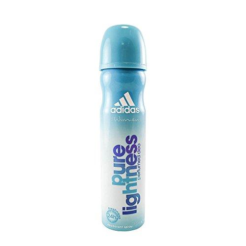 Womens Pure Perfume Spray (adidas Pure Lightness Deodorant Body Spray for Women, 2.5 Ounce)