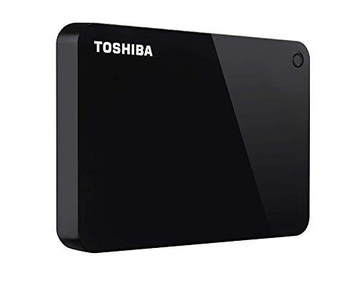 Toshiba Canvio Advance 2TB Portable External Hard Drive USB 3.0, Black (HDTC920XK3AA)