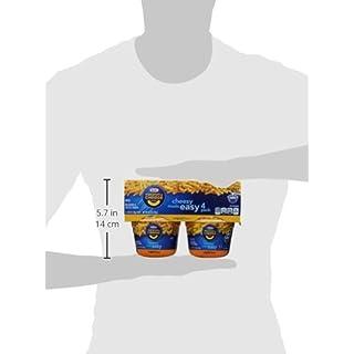 Kraft Easy Mac Original Flavor Macaroni and Cheese (24 Microwavable Cups, 6 Packs of 4)