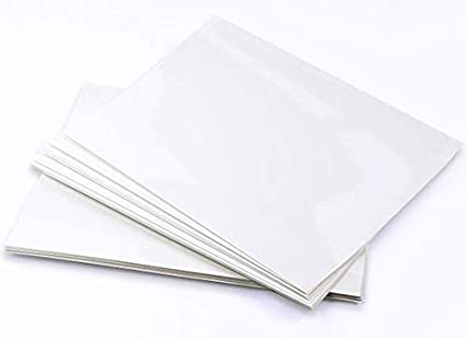Amazon com : Chromolux High White Cardstock - 8 1/2 x 11, 92lb Cover