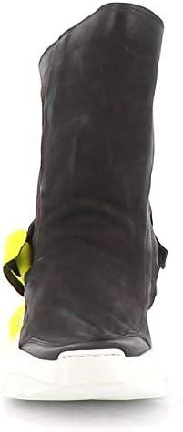 A.S.98 Sneaker Alta Monster A12202-201 Combi 2 Noir Airstep as98
