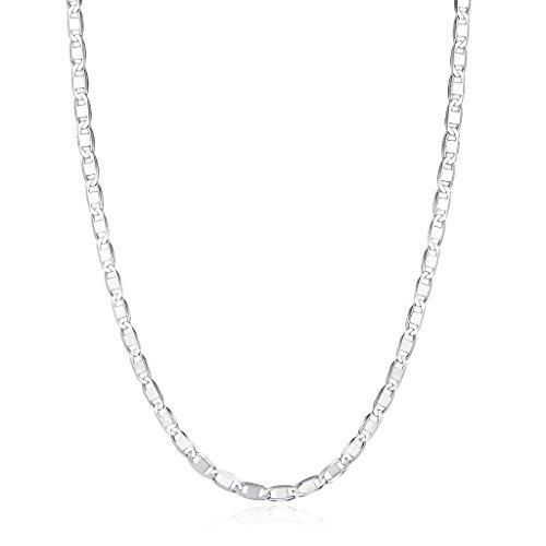 Over 925 Silver Chain - 1