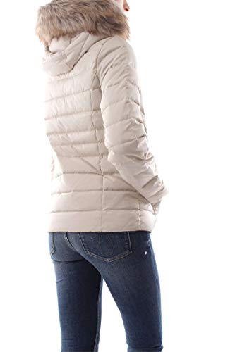 M Klein Beige Down Jeans Jacket Calvin anTqnz