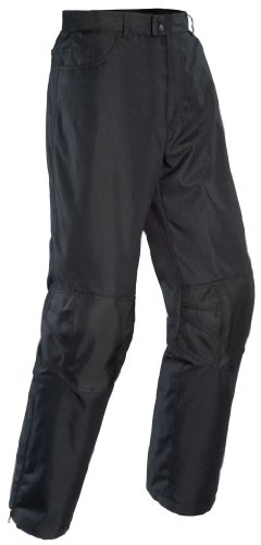 Tourmaster Mens Quest Motorcycle Pants Black Extra Large XL