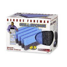 George Foreman Grill Cleaning Sponge, Set of 12 - George Foreman Cleaning Sponges
