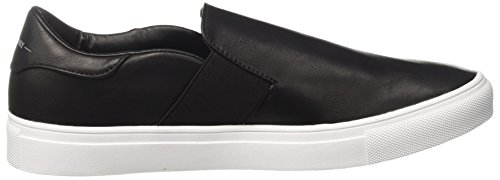 Man Manhattan Superdry Luxe Womens Trainers Slip Made On Black XwSaw6