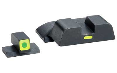 AmeriGlo Combative Application Fits All S&W M&P Pistol Sight, Green by AmeriGlo
