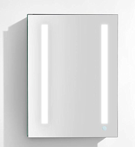 Right Hinge Medicine Cabinet (Aquadom Led Medicine Cabinet Royale Plus Outlets-Recessed & Surface Mount (24in x 30in x 5in (Right Hinge)))