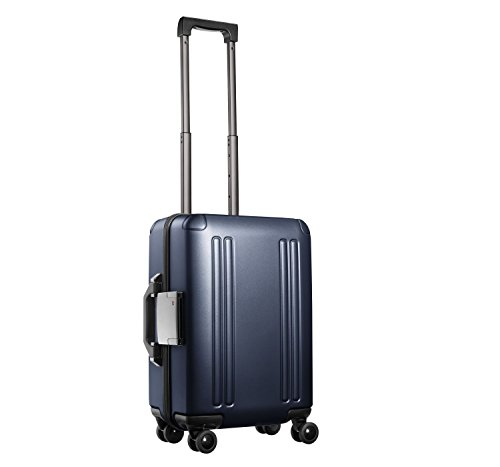 "Zero Halliburton ZRO 20"" International Carry-On 4-Wheel Spinner Luggage Gunmetal"
