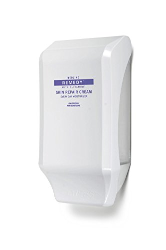 Medline MSC094412WD Remedy Skin Repair Cream Wall Dispensers, White (Case of 12) by Medline