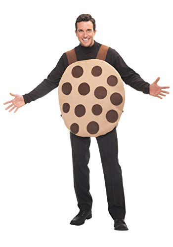 Adult Cookie Costume Standard Brown]()