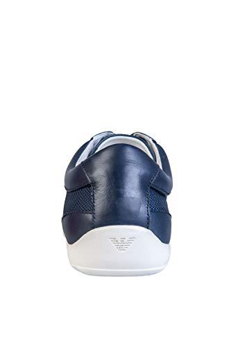 Armani Baskets Formal Emporio Mode Homme Bleu PqO8Za8