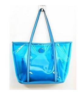 Amazon.com: Azul Neón Fluorescente de las mujeres Bolsos de ...