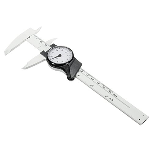 CoCocina 6inch 150mm Scale Dial Vernier Caliper Metric Measurement Standard Inch MM