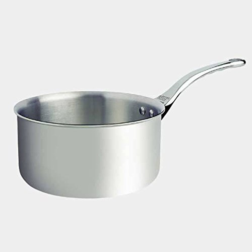 De Buyer Professional 16 cm Stainless Steel Affinity Medium Saucepan 3706.16