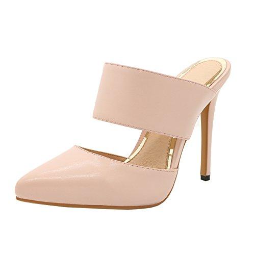 EKS - Zapatos de tacón fino Mujer rosa - rosa