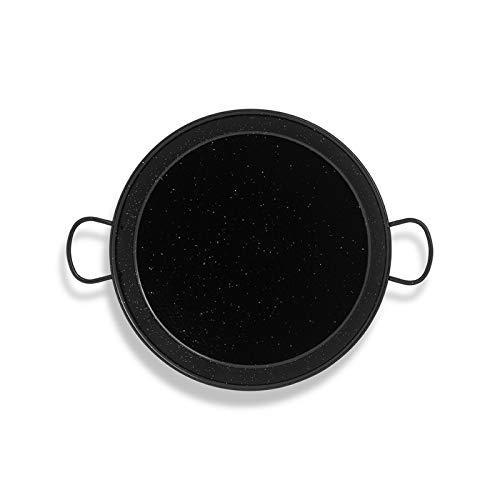 Enamelled 8 People paella pan 15Inch / 38cm / 8 Servings