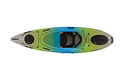 58154 Third Coast Arbor 100 Sit In Recreational Kayak (Citron/Blue/White) by KL Industries