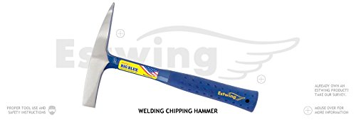 4 Pack Estwing E3-WC 14oz Welding Chipping Hammer Nylon-Vinyl Grip 11'' Length by Estwing