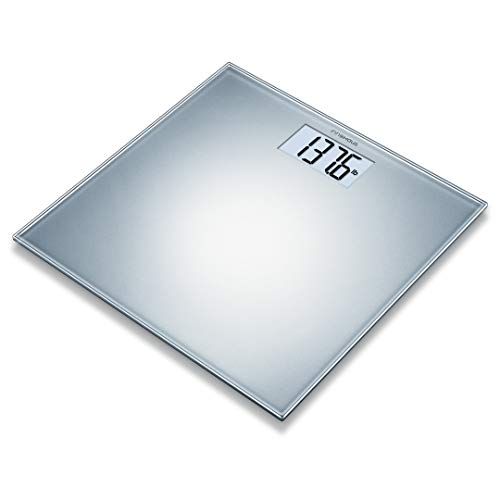 innohaus AGS200 Digital Luxury Glass Body Scale, Measures Body Weight