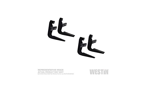 Westin 27-1015 Sure-Grip//Step Board Mount Kit Black Finish Sure-Grip//Step Board Mount Kit