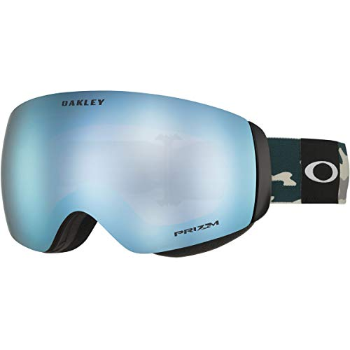 Oakley Flight Deck XM Balsam Camo w/Prizm Sapphire Iridium (Oakley Women Ski Goggles)