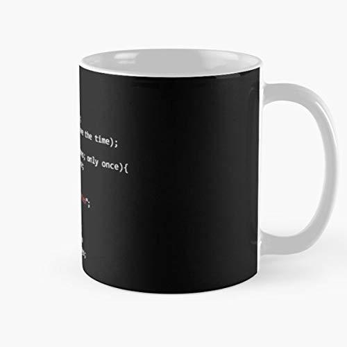 Tasse Kaffee Motive Elfquest Wolfrider Elf Elves Confidence Coder Programming Programmer Function Chance Developer Code Coding Mug Coffee Best 11 oz Kaffee-Becher