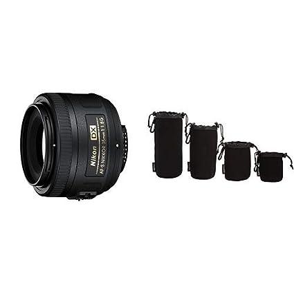 Lenses Nikon AF-S DX NIKKOR 35mm f/1.8G Lens with Auto Focus for ...