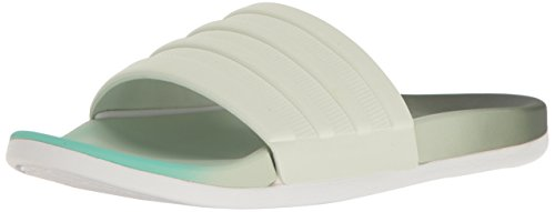 adidas Womens' Shoes | Adilette CF+ Fade Athletic Slide Sandals, Utility Ivy Linen Easy Green S, (9 M US)