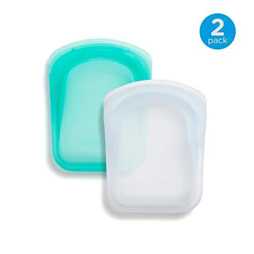 - Stasher Pocket 100% Silicone Bags, Small Storage Size, 4.5