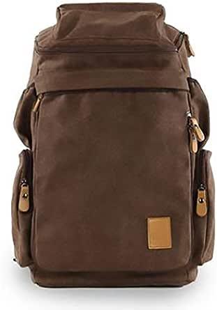 Men women Fashion Big backpack Canvas Leisure Travel Bag computer bag School[Moy-BR13]