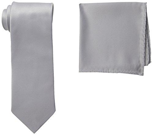 Men's Adams Necktie Silver Stacy Stacy Adams fqxEtx