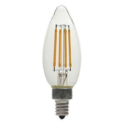 GE ベーシック 6パック 60W相当 温白色 B10 LED照明器具 電球 ヴィンテージ ソフト LED 装飾的 燭台 アンティーク   B07GWG76CB